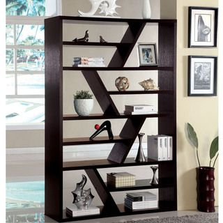 Furniture of America Emize Espresso Open Display Shelf   Overstock.com Shopping - Great Deals on Furniture of America Media/Bookshelves 285