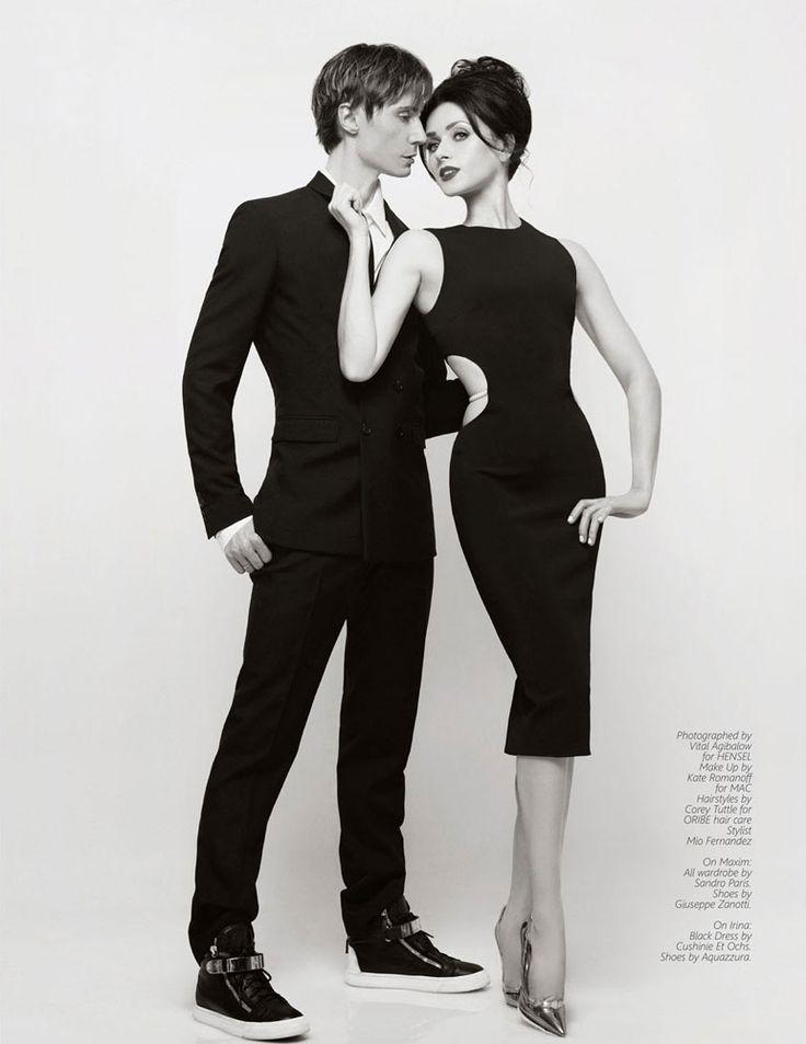 IRINA DVOROVENKO Editorial/Cover photoshoot by VITAL AGIBALOW for HENSEL – New York. | http://www.VITALagibalow.com