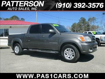 2004 Toyota Tundra for sale in Wilmington, NC