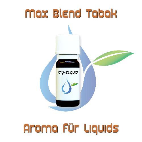 Max Blend Tabak Aroma | My-eLiquid E-Zigaretten Shop | München Sendling