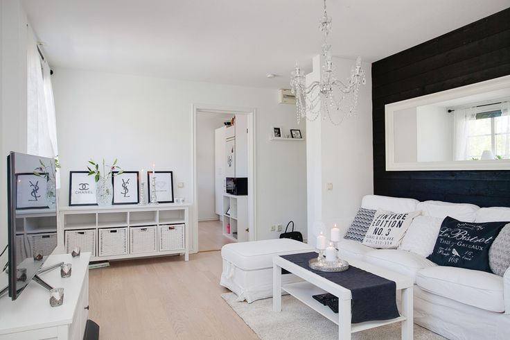 Scandinavian design. Living room