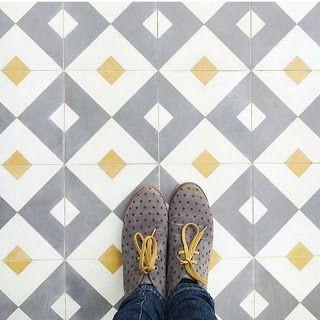 LMB Interiores: Suelos hidráulicos, una joya a tus pies