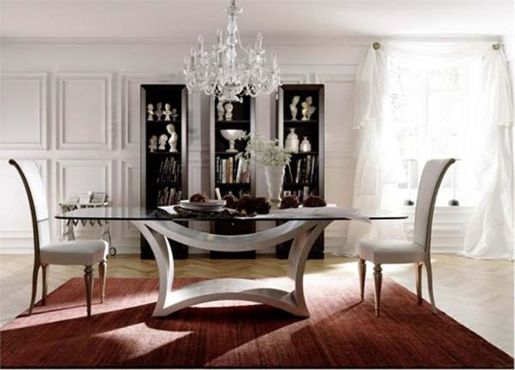 Modern Glass Dining Table Designs with Minimalist Style   provocative  modern dining room table  glass dining table minimalist home furniture  inspirations. Best 25  Glass dining room table ideas on Pinterest   Glass dining