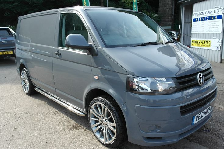 "2010 10 VW Transporter T5.1 Gp 2.0 Pure Grey 29k Miles Sportline Pack 20"" Alloys - VW T4 Forum - VW T5 Forum"