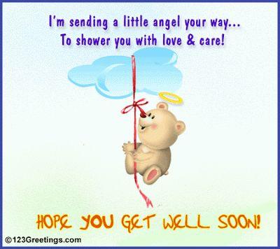 get better soon   Get better soon quotes, get well soon quotes, feel better quotes, get ...