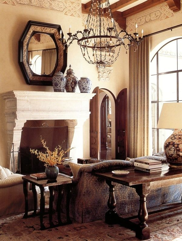 1000 images about spanish style on pinterest spanish for Spanish villa interior design
