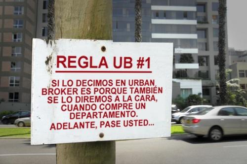 Creo que somos aquello en lo que creemos.  Blog Urban Broker: Reglas Urban Broker: cómo comprar departamento