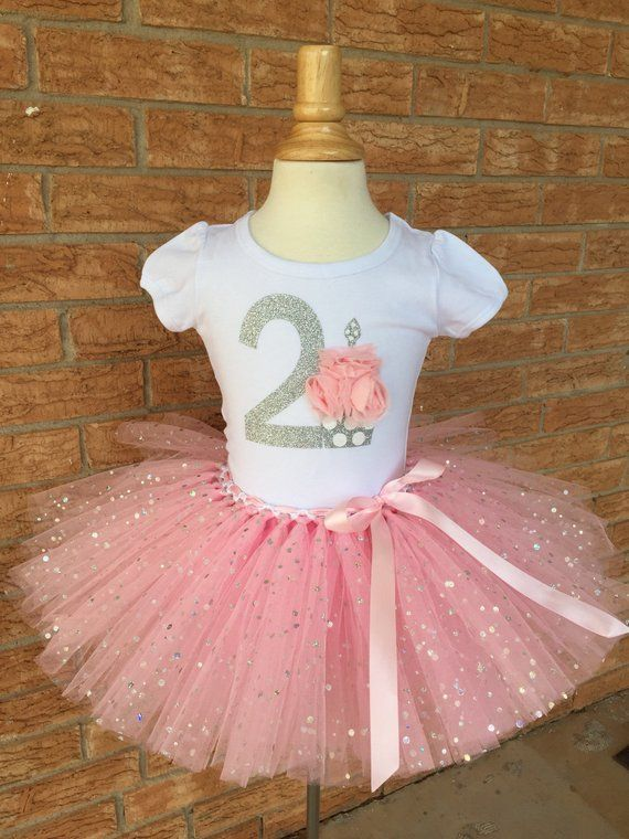 Second Birthday Outfit 2 For Girls 2nd Shirt Year