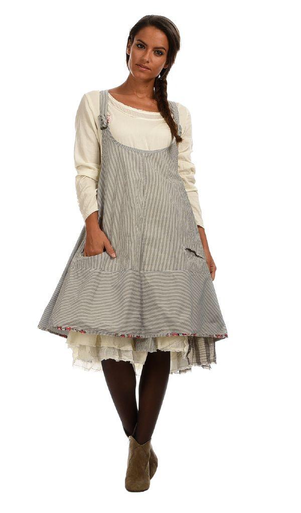 Robe PHOENIX blanc/noir