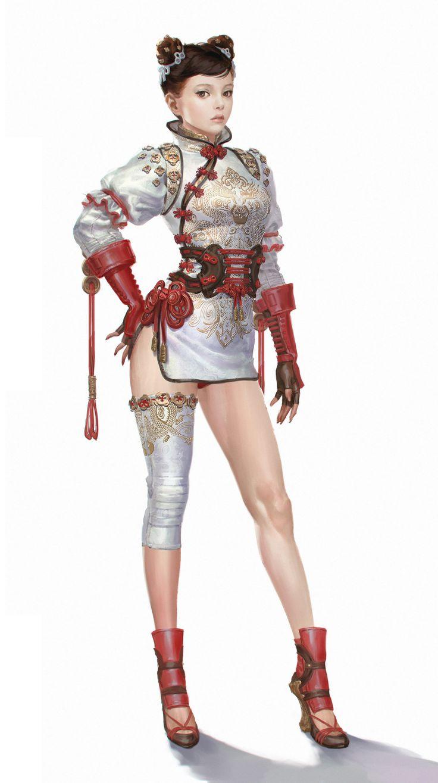 ArtStation - Chang chun 2 costumes, Bluezima : Shin Dong-Wook