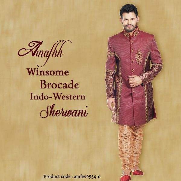 Sherwani becomes the first choice of every Indian man when attending a party, or hosting a one or himself is a groom