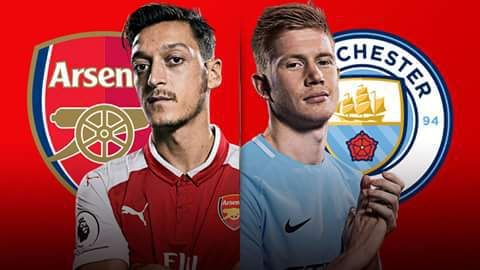 Arsenal Expected Lineup To Face Man City Today In Carabao Cup Final