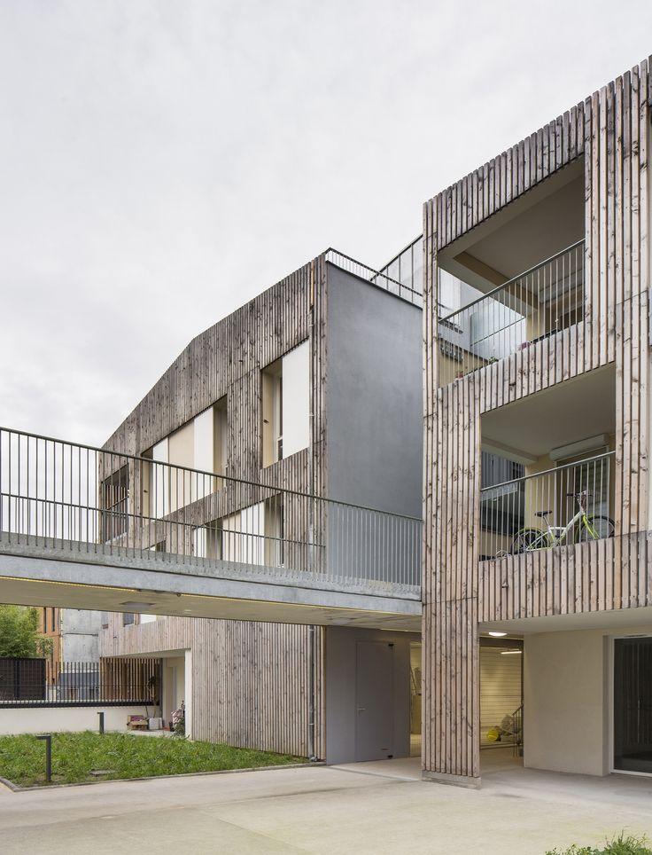 Nanterre Co-Housing / MaO architectes + Tectône