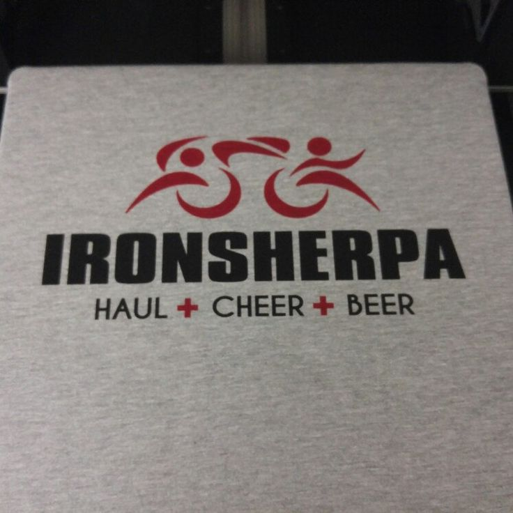 IRONSHERPA Triathlon Sherpa tshirt