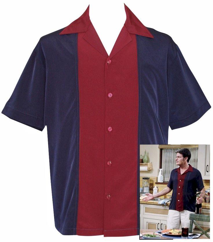 Camp Shirt ~ Inspired by Charlie Sheen ~ LANSKY