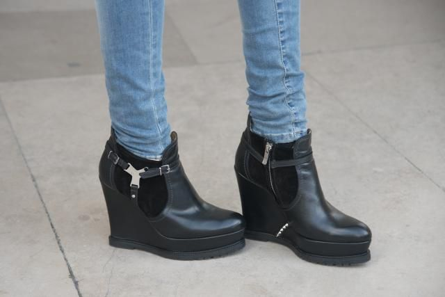 flat ankle boots with jeans - photo #24