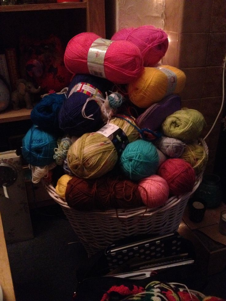 My wool stash keeps on growing I love it!!