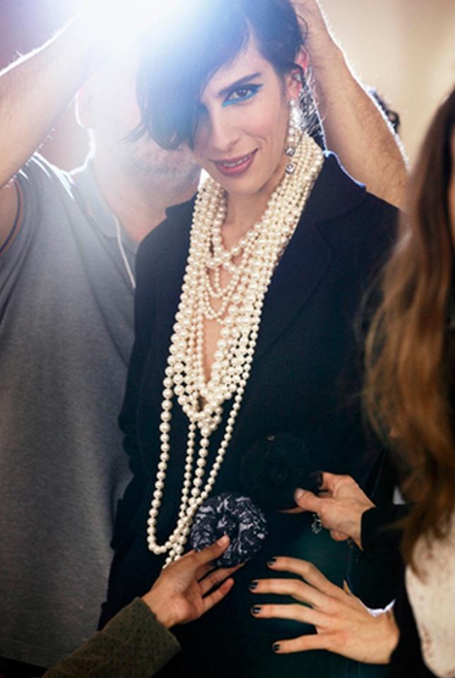 #chanel #pearl #resort 2014