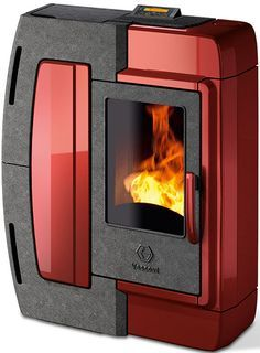 Decorative pellet stoves from Vescovi