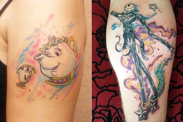 """Drikalinas, a Adriana, é uma tatuadora talentosa de São Paulo. Apesar detatuar há só um ano, Drika é filha de um tatuador com mais de 30 anos de experiência, então já """"cresceu"""" no meio. A característica mais forte de suas tatuagens é a cor! Ela cria desenhos em rascunhos de papel com tinta e depois reproduz no corpo com cores que imitam aquarela, sempre com traços finos e firmes. As..."""