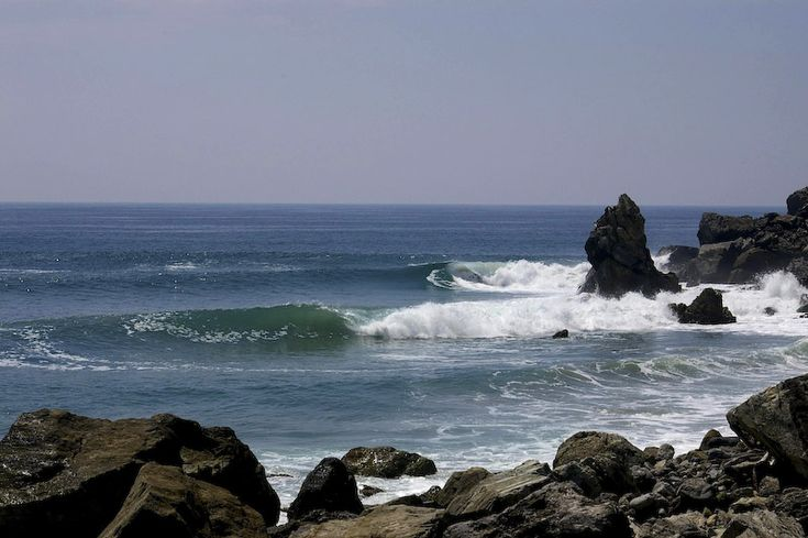 Another perfect point break in Salina Cruz, Mexico