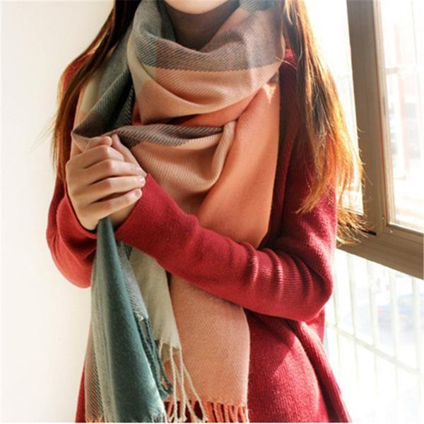 Cashmere Silk Scarf - courage and confidence by VIDA VIDA rxnSujF