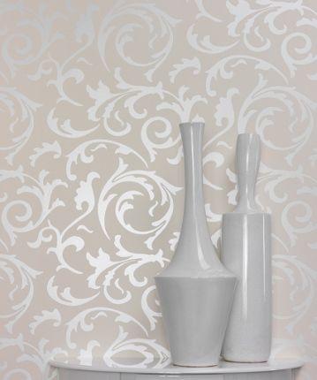 Referencia de papel de parede para cabeceira Medusa - Papel de parede dos anos 70