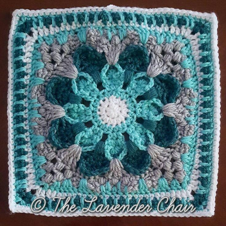 Crazy Daisy Mandala Crochet Pattern