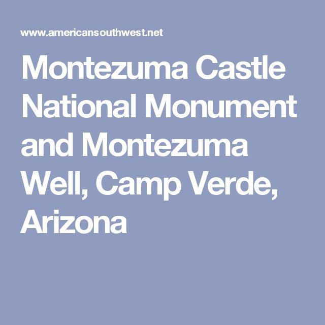 Montezuma Castle National Monument and Montezuma Well, Camp Verde, Arizona