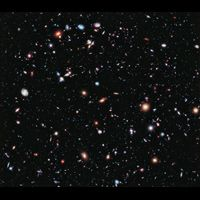 10 years of Hubble telescope pictures combined to create the most detailed photograph of the universe ever.