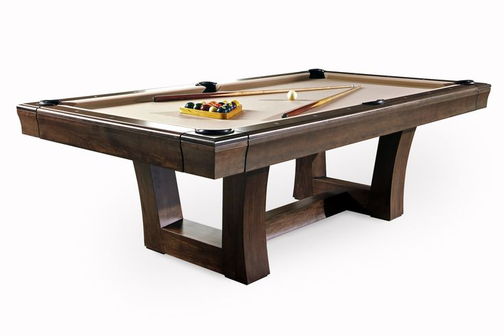 Buy City Pool Table by California House - Made-to-Order designer Furniture from Dering Hall's collection of Mid-Century / Modern Transitional Game Tables.
