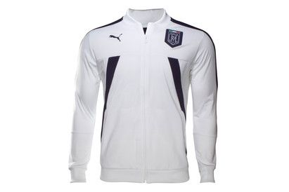 Puma Italy 2017 Stadium Track Football Jacket Keep warm on the bench or at training with this Italy 2017 Stadium Track Football Jacket by Puma.Made by Puma from polyester, a ribbed finish to the elasticated collar makes for something of a classic http://www.MightGet.com/february-2017-2/puma-italy-2017-stadium-track-football-jacket.asp
