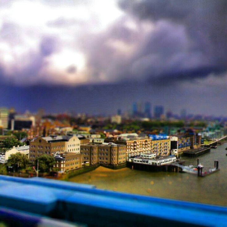 Shadwell - London (Tilt-shift)