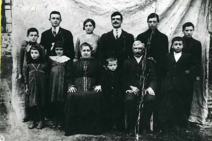 Ritratto di famiglia in studio