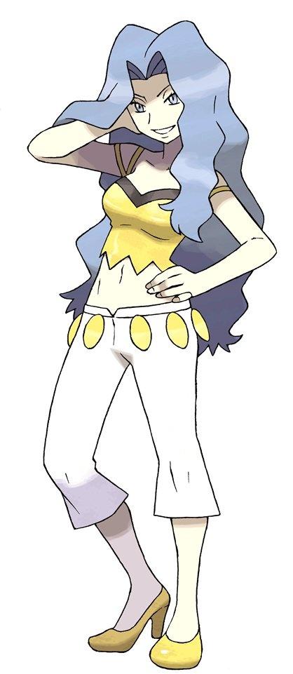 Pokemon Challenge Day 19: My favorite elite four member is Karen, from Johto. She uses dark types, and Umbreon!