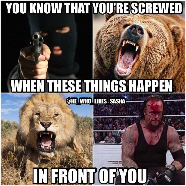 Especially when the undertaker sits up in front of u. #wwe #wwememe #wwememes #undertaker #theundertaker #kane #attitudeera #ruthlessaggression #wwehof #romanreigns #romanempire #theshield #johncena #therock #stonecold #wrestler #wrestling #prowrestling #professionalwrestling #worldwrestlingentertainment #wwf #wweuniverse #wwenetwork #wwesuperstars #raw #wweraw #smackdown #smackdownlive #nxt  #mondaynightraw