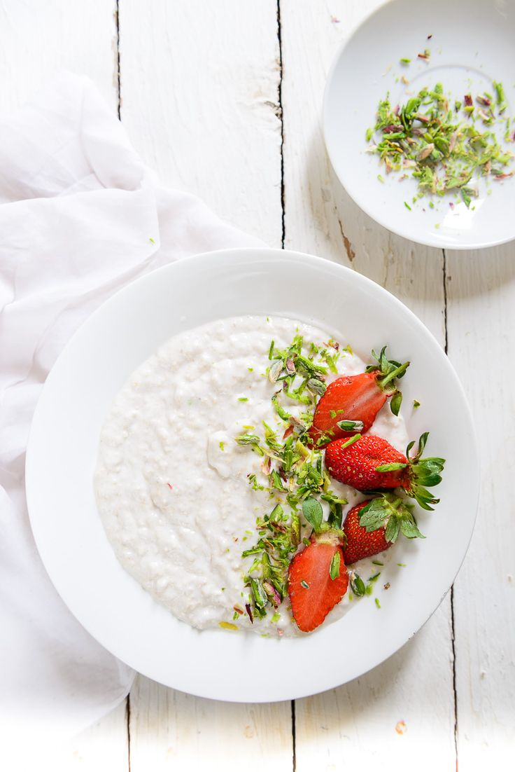Overnight Oats in Coconut Milk are an easy, quick way of having your fill of this wonderful fiber. Add to this some fruits like raspberry or strawberries and you have a breakfast that will last you through the better part of a day.