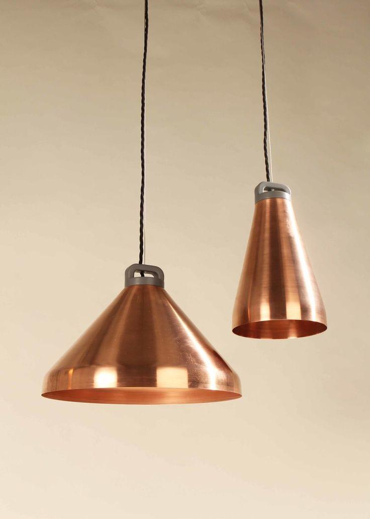 Let There Be Light   Copper Lamps / Lampes En Cuivre