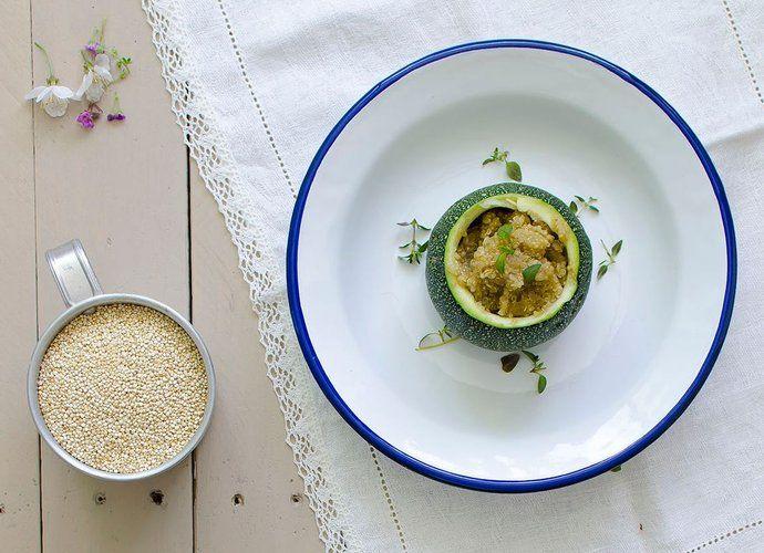 Calabacines rellenos de quinoa para #Mycook http://www.mycook.es/cocina/receta/calabacines-rellenos-de-quinoa
