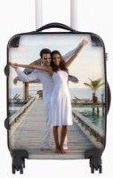 huwelijkscadeau, koffer voor de huwelijksreis, natuurlijk met een mooie foto