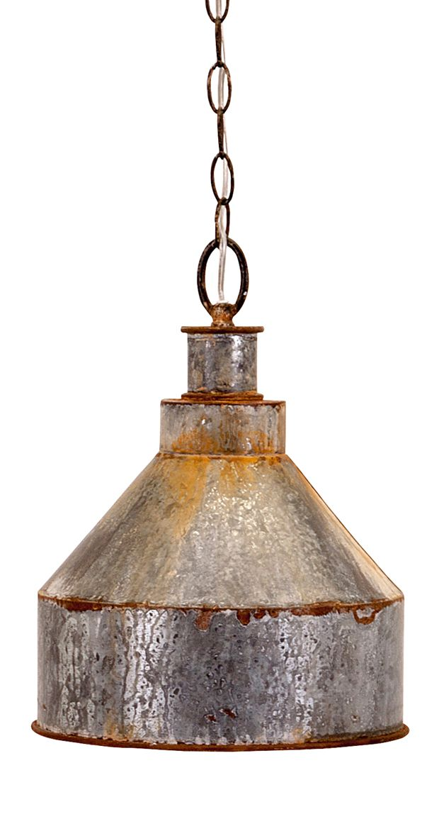 If you're looking to galvanize your living space, this handsome pendant light is sure to do the trick. Made from worn metal, this Damon Pendant Light it perfect for industrial and vintage-inspired spac... Find the Damon Pendant Light, as seen in the The Renovated Mill House Collection at http://dotandbo.com/collections/the-renovated-mill-house?utm_source=pinterest&utm_medium=organic&db_sku=114543