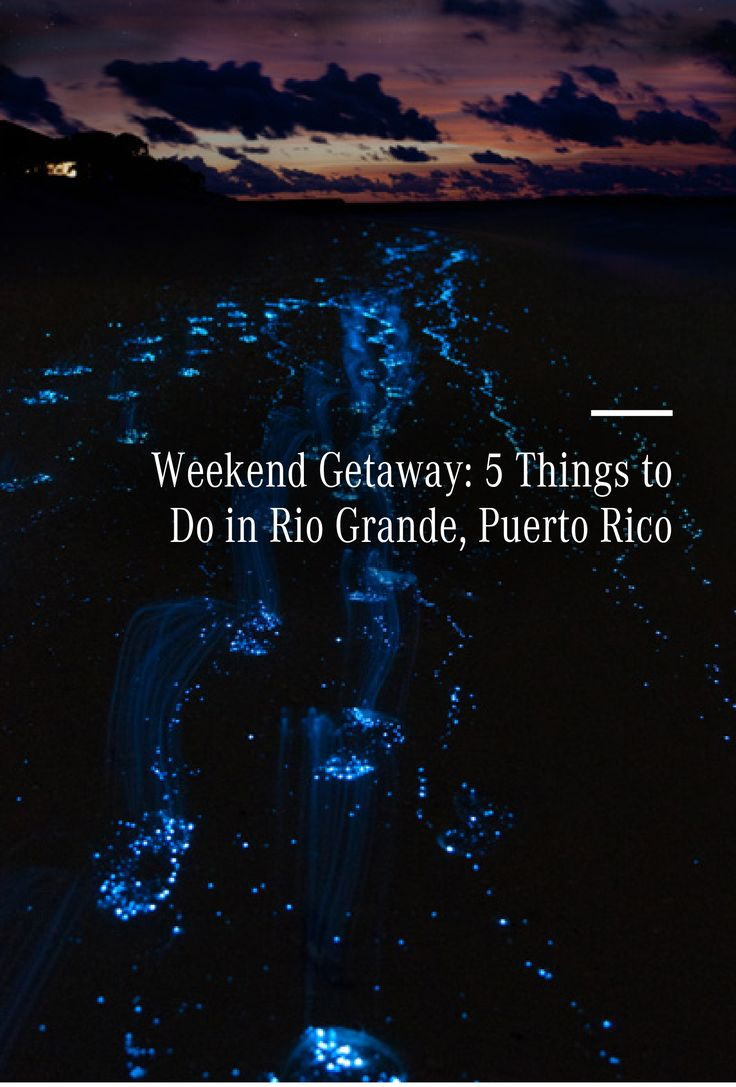 Weekend Getaway: 5 things to do in Rio Grande, Puerto Rico. Hop in your Mercedes-Benz to escape and take a much-needed easy vacation, without going on a big trip.
