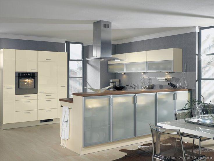 Gray Kitchen Walls With Cream Cabinets 72 best orange kitchens images on pinterest   kitchen ideas