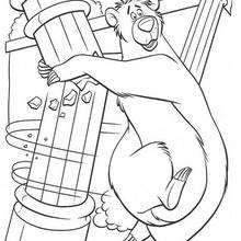 The Jungle Book 29 - Coloring page - DISNEY coloring pages - The Jungle Book coloring pages