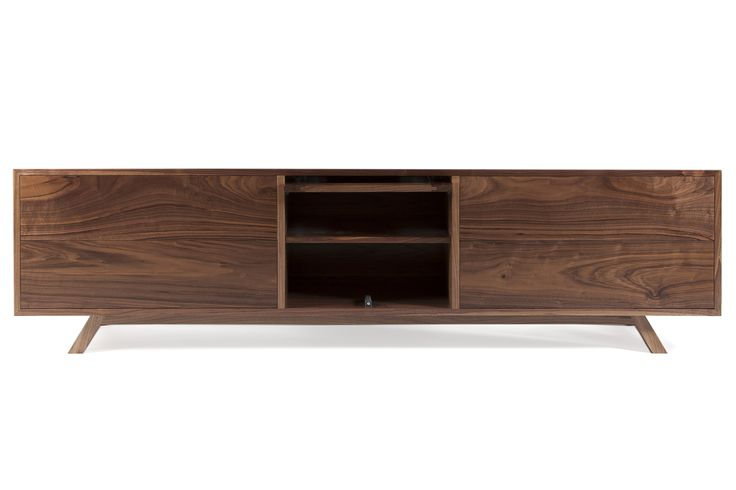 American Walnut audio visual unit.