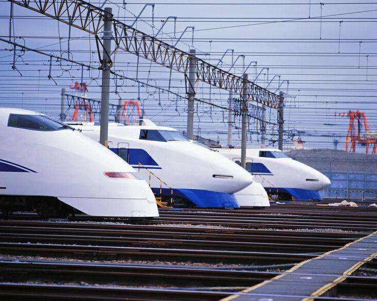 "Japanese Bullet trains ""SHINKANSEN"""