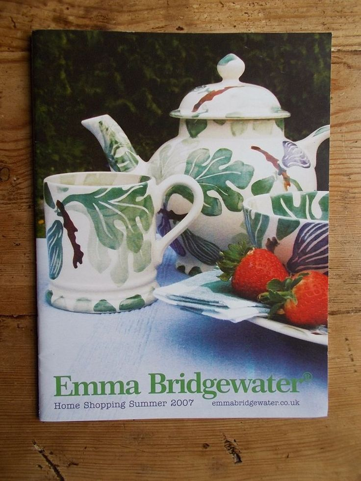EMMA BRIDGEWATER  2007 HOME SHOPPING SUMMER  CATALOGUE    eBay