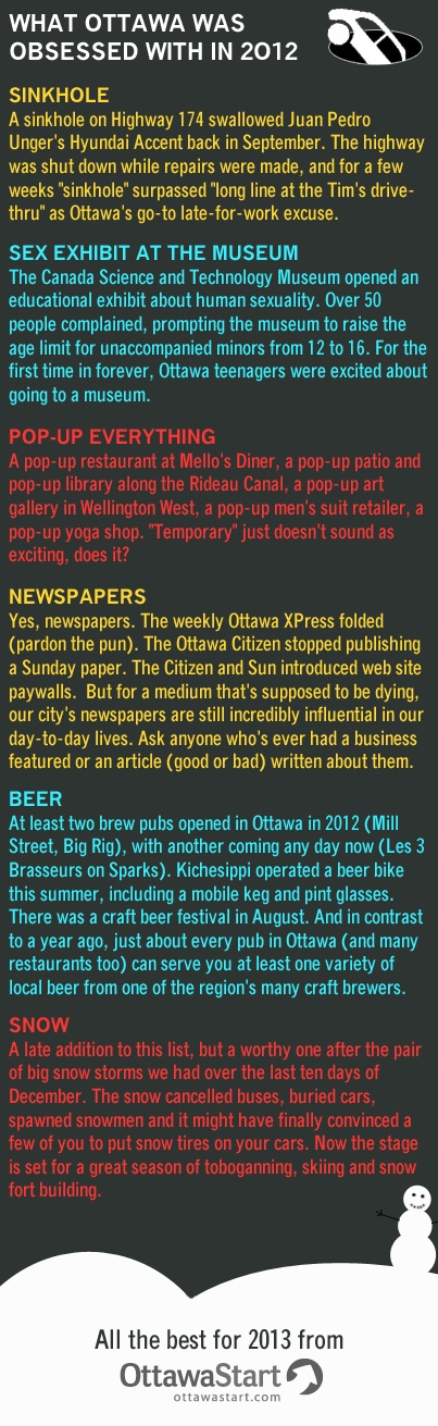 If you ever wondered what was FUN in Ottawa this year :D
