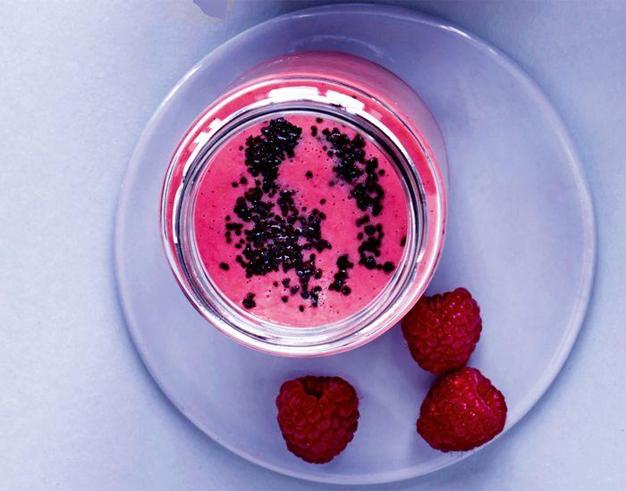 Pink juice med et strejf af lakrids - Måltid
