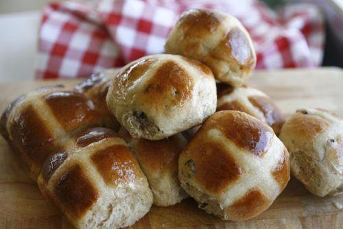 Hot Cross Buns Newfoundland Recipe. Cookbook of Traditional Newfoundland Meals by Newfoundland.ws